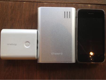 モバイルバッテリー購入
