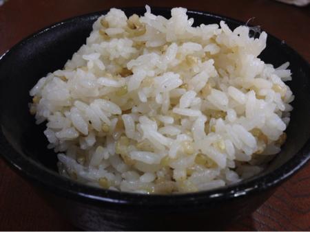 緑米ごはん