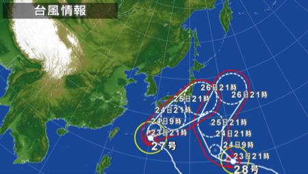 アベック台風