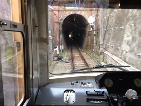 江ノ電のトンネル