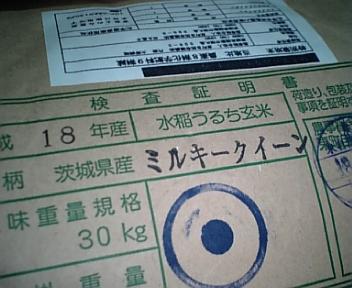 東町ミルキークイーン新米入荷!(10/5)
