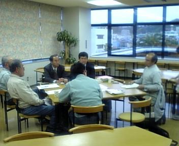 ゆうき会の会合