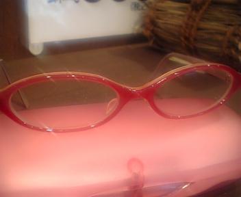 メガネとタイトルいじる