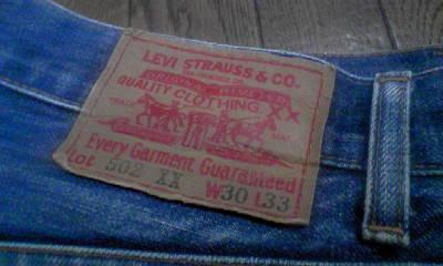 20年ほど前のジーンズ