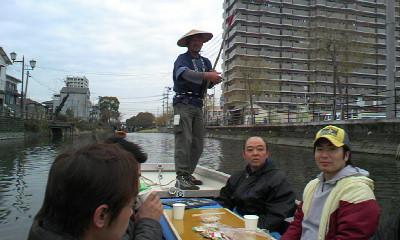 柳川川下り