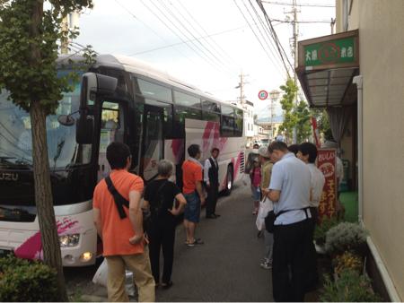 三和稲刈りツアー2012